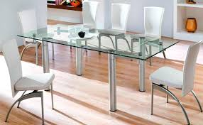 Glass Dining Room Table Set Home Design Ideas And Pictures - Glass dining room table set