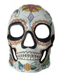 Day Of The Dead Mask Day Of The Dead Skull Mask Flower Día De Los Muertos Mask