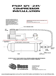 12v air compressors boss air suspension