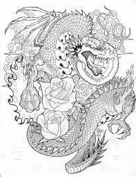 dragon tattoo sketch by bopet deviantart com on deviantart