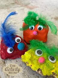the activity mom pet rock craft for kids