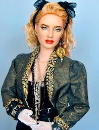 uncannily realistic repainted celebrity dolls madonna barbie