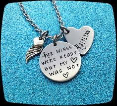 memorial gifts for loss of memorial jewelry custom remembrance necklace funeral gift loss
