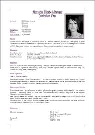 Sample Resume Curriculum Vitae by Lofty Cv Resume 16 Sample Resume Cv Ahoy Resume Example