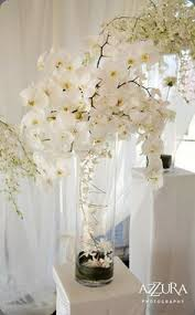 orchid centerpiece mandarin wedding by ned jackson photography orchid