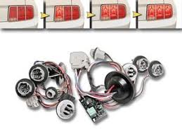 99 04 mustang sequential tail light kit mustang sequential tail light kit ebay