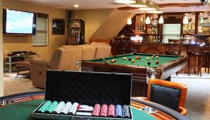Big Game Room - 8 insanely creative man cave options for your next poker party