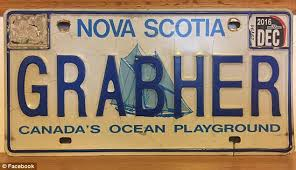exes license plate frame canada pulls vehicle license plate deemed offensive daily mail