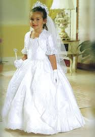 communion dress lace accented tiered skirt communion dress mb804