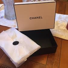 gift box tissue paper chanel chanel gift set box tissue paper from vladina s closet