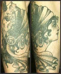 tattoosday a tattoo blog max u0027s spin on a traditional gypsy tattoo