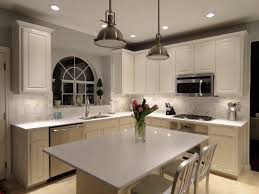 granite countertop gray and white kitchen cabinets bisque