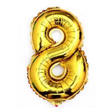 balloon decorations mylar number letter gold 40 8 eight mylar number letter balloons birthday big