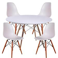 dsw replica dining table and dsw replica eames chair package