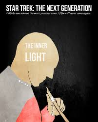 star trek the next generation the inner light star trek the next generation the inner light minimal poster by