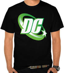 Baju Dc jual kaos dc comics green logo dc comics satubaju