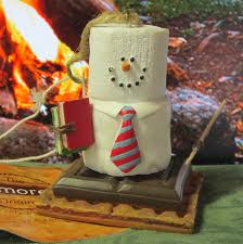 s mores midwest cannon falls marshmallow snowman ornament cing