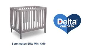 Delta Liberty Mini Crib Delta Children S Bennington Elite Mini Crib Vignette