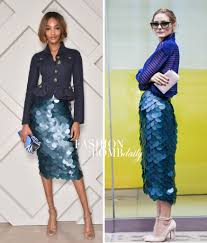 who wore it better jourdan dunn vs olivia palermo in burberry