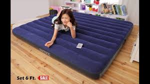 ร ว ว pantip ท นอนเป าลม intex ร น classic downy bed ขนาด 6 ฟ ต