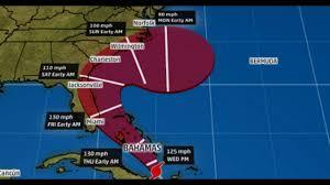 Bahamas Flag Meaning Hurricane Matthew To Hammer Bahamas And Florida Coast Before