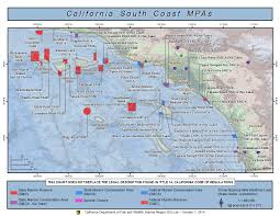 Outerbanks Map Southern California Marine Protected Areas