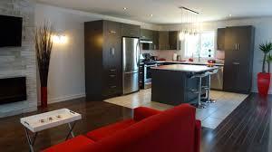 decoration salon cuisine cuisine et salon aire ouverte kirafes