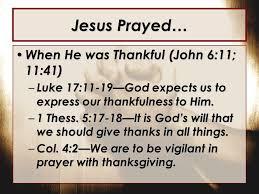 the prayer of jesus ppt