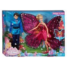 buy mattel barbie mariposa fairy princess giftset bbv43
