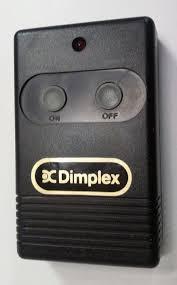 dimplex fireplace wireless remote control u0026 plug in receiver model
