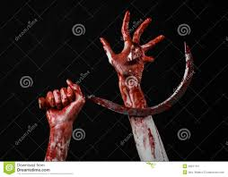 halloween themed background free bloody hand holding a sickle sickle bloody bloody scythe bloody