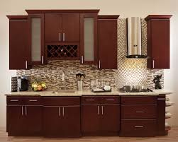 stylish cherry kitchen cabinets u2014 home design ideas