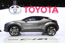 toyota brand new cars price toyota c hr concept updated for frankfurt looks closer to production