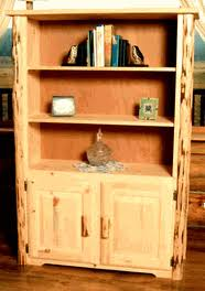Pine Office Furniture by Pine Log Office Furniture