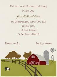 barn invitation paperless post evite has one farm invite and