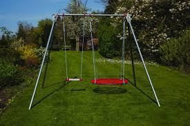 Double Swing Brave Double Swing Set Funhouse Specialneedstoys Com