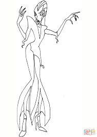 winx club ediltrude coloring page free printable coloring pages