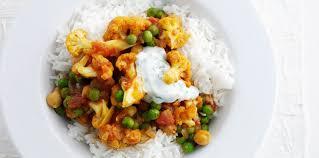 assiette de cuisine assiette végétarienne de légumes à l indienne facile et pas cher