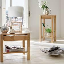 Schlafzimmer Komplett In Buche Hoher Telefontisch Terence In Buche Dekor Mit Schublade