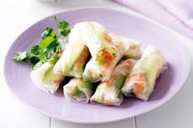 where to buy rice wrappers avocado and vegetable rice paper rolls
