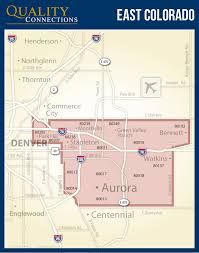 Denver Metro Zip Code Map by Denver U2013 East Metro Qc Marketing