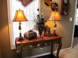 Entryway Table Decor by Warm Home Decor For The Casa Pinterest Tassels Foyers And