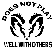Dodge Ram Decals - does not play well with others ram decal dodge decal