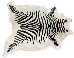 Taupe Zebra Rug Zebra Print Rug While Animal 3x5 4x6 Rugs Shop The Best Deals