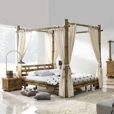 chambre lit baldaquin lit baldaquin bambou bambu 3220