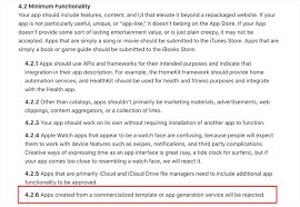 apple is rejecting app maker submissions find out why