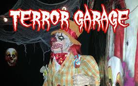terror garage 2014 halloween haunt horror props freddy jason