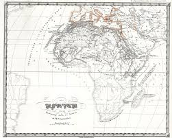 Map Of Africa Labeled by File 1855 Perthes Map Of Africa Prior To The Arab Invasions Of The