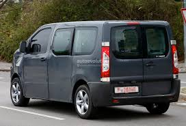 new citroen dispatch spyshots new citroen jumpy takes cues from 2011 tubik concept