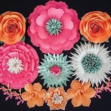 145 best paper flower backdrops images on pinterest paper flower